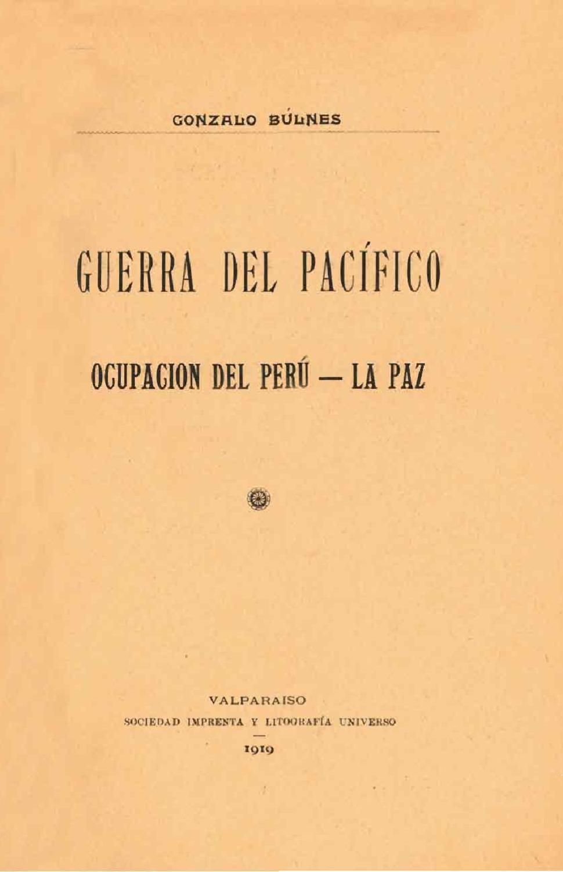 Guerra del Pacífico, ocupación del Perú - La Paz by alberto manzog ...