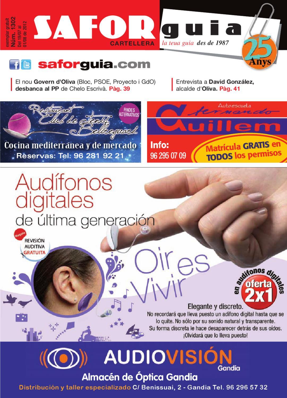 Semana Del 19 De Juliol A L 1 D Agost De 2012 By Saforguia  # Muebles Peiro Quart De Poblet