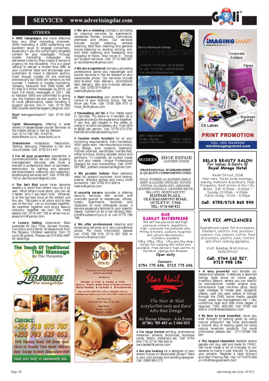 Advertising Dar Issue Nº 673 - 20th July, 2012 by Advertising Dar