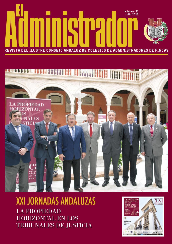 El administrador n52 by ibersponsor comunicaci n - Colegio de administradores de fincas de barcelona ...