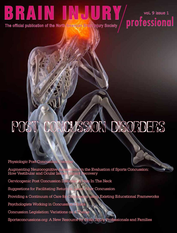 Brain Injury Professional Vol 9, #1 by Nikolai Alexeev - issuu