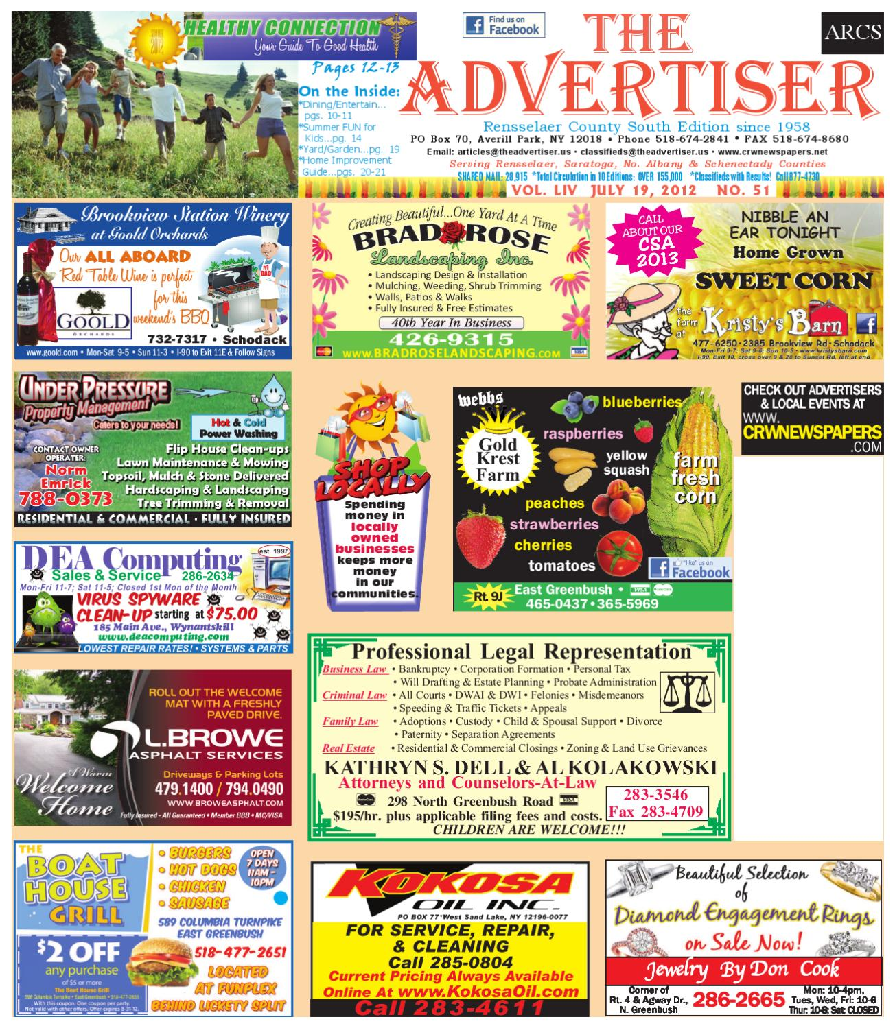 Advertiser South 071912 By Capital Region Weekly Newspapers Issuu Tony Perotti Loafers Archibald Brown
