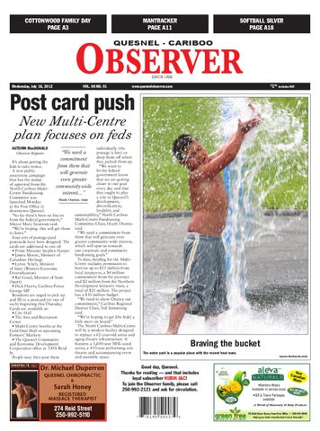 Quesnel cariboo observer july 18 2012 by black press issuu page 1 fandeluxe Images