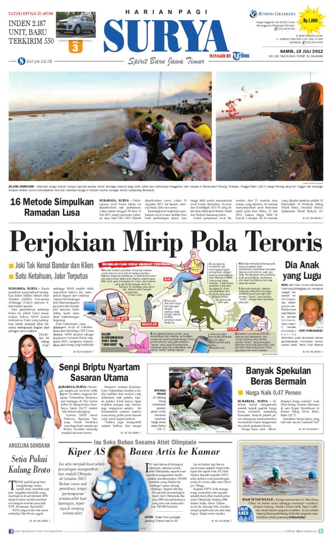 E Paper Surya Edisi 19 Juli 2012 By Harian Issuu Perdana Axis Acak Revanyu