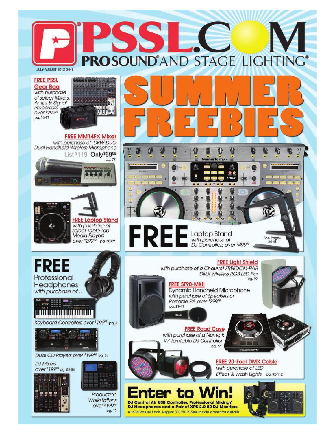 2012 04 Jul Aug By Psslcom Prosound Stage Lighting Issuu Simple Easy Parametric Amp Graphic Eqs Plus Peaks Notches