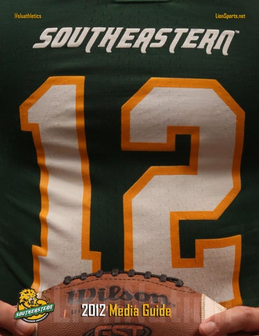 2012 Southeastern Louisiana Football Media Guide by Southeastern ... 765cc2562