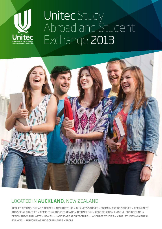 6cc36a1c9bb Unitec 2013 Study Abroad by Unitec Institute of Technology - issuu