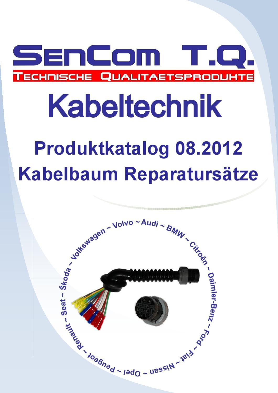 SenCom 1014455B Reparatursatz Kabelbaum Kofferraumdeckel
