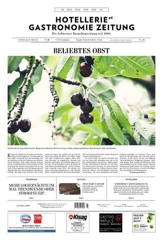 HetG Zeitung 23/2012 By Hotellerie_Gastronomie_Verlag   Issuu