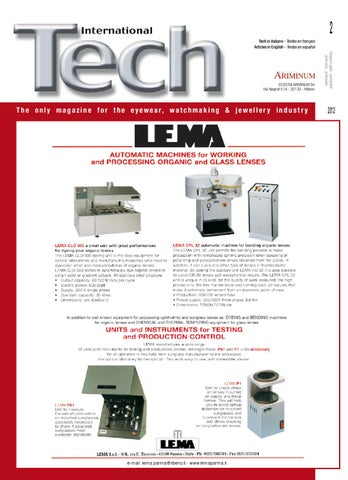 bf791298c9 TECH International June/July 2012 by Edizioni Ariminum Srl - issuu