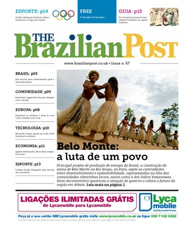 The Brazilian Post Edição 67 by The Brazilian Post - issuu ecaeeef3951a7