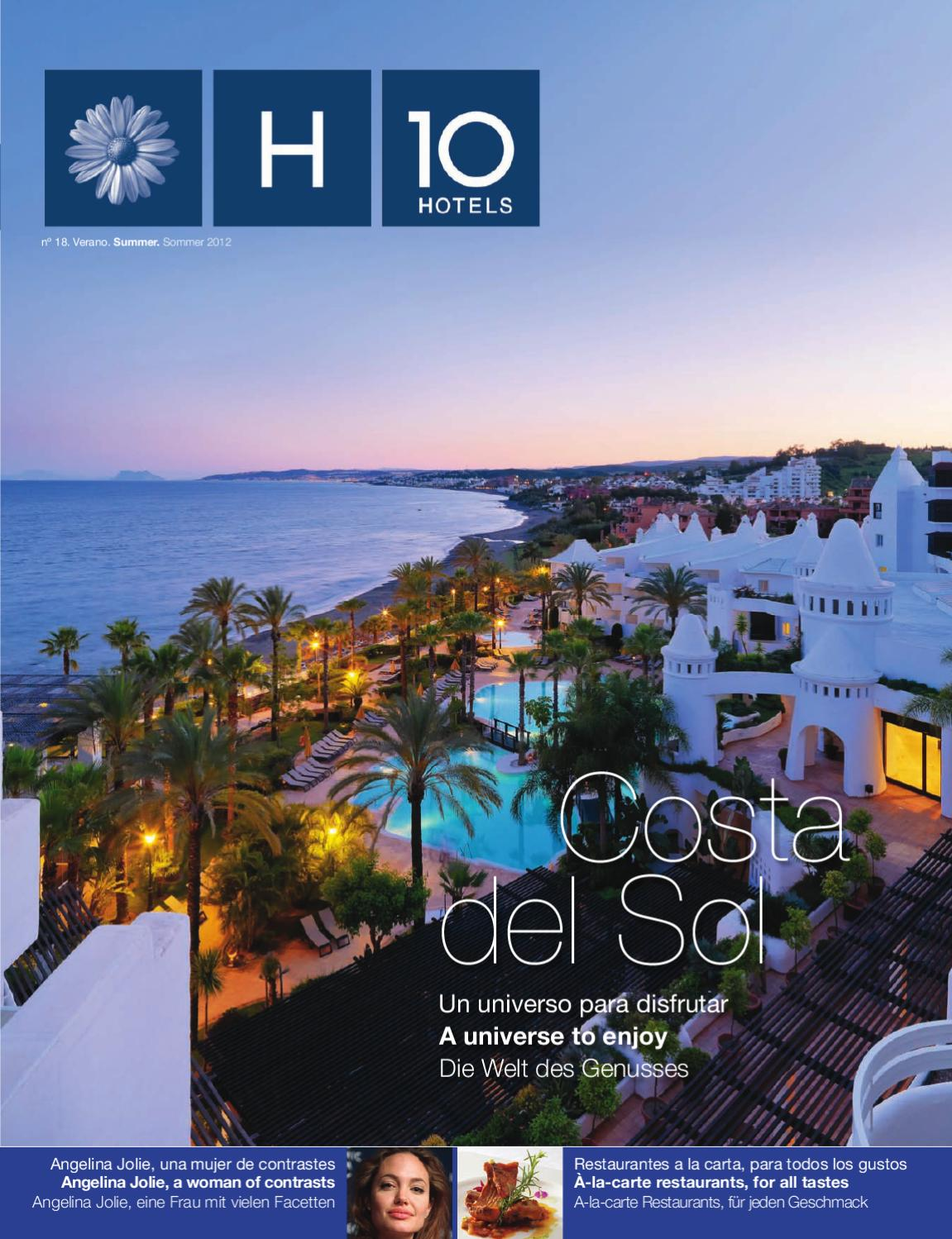 871fb8bc695e4 H10 Hotels Magazine. nº 18. Verano.Summer.Sommer 2012 by H10 Hotels - issuu
