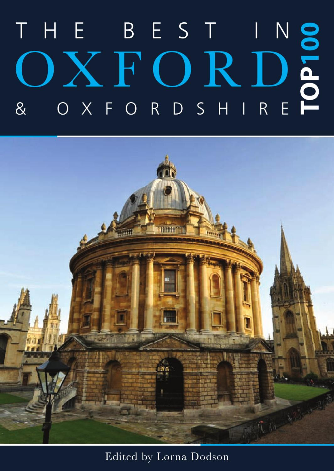 Best In Oxford 2012 Top 100 by In Oxford - issuu