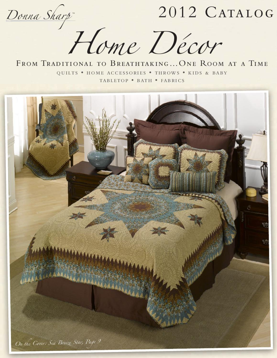 Home Decor Catalog 2012 by Donna Sharp Inc. - Issuu