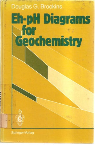 Eh ph diagrams for geochemistry douglas g brookins by vinicius page 1 ccuart