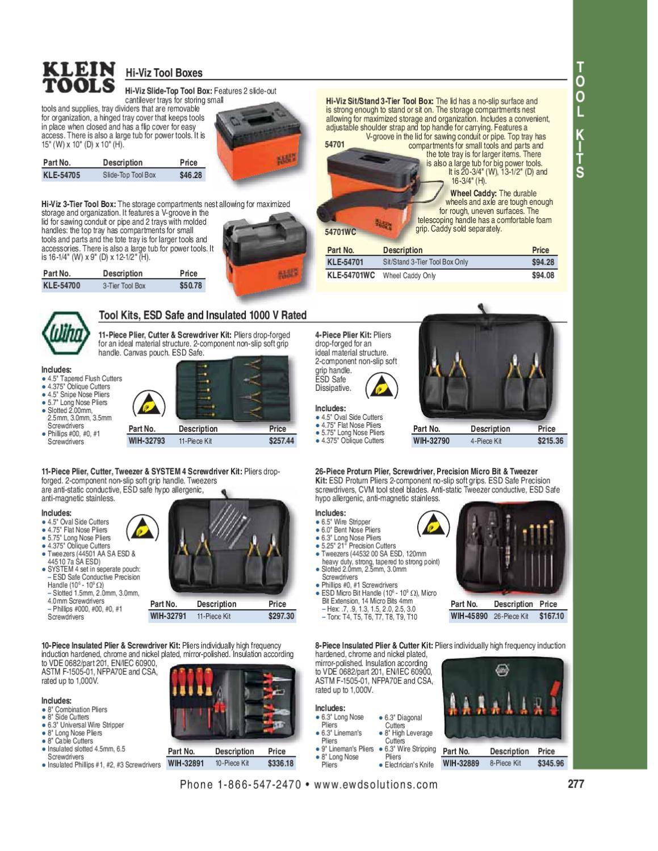 Wiha 45890 26 Piece ESD Safe Proturn Precision Combo Set