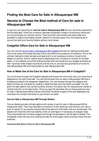 Craigs list alb nm