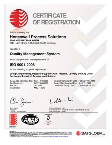 QMI_ISO9001_Butzbach_eng_2013 by neue formen GmbH & Co  KG - issuu