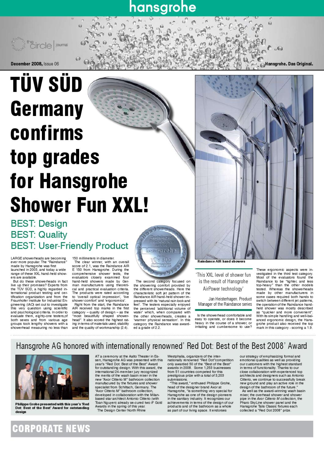 The Circle Hansgrohe By Jimmy Mavroudis Issuu