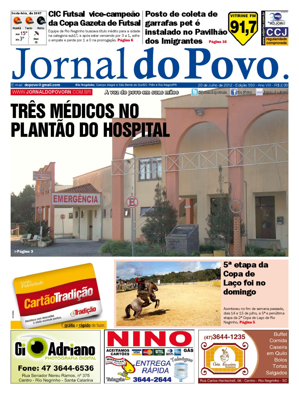 ad456aef39dd6 Jornal do Povo - Edição 550 - Dia 20 de Julho de 2012 by Jornal do Povo -  issuu