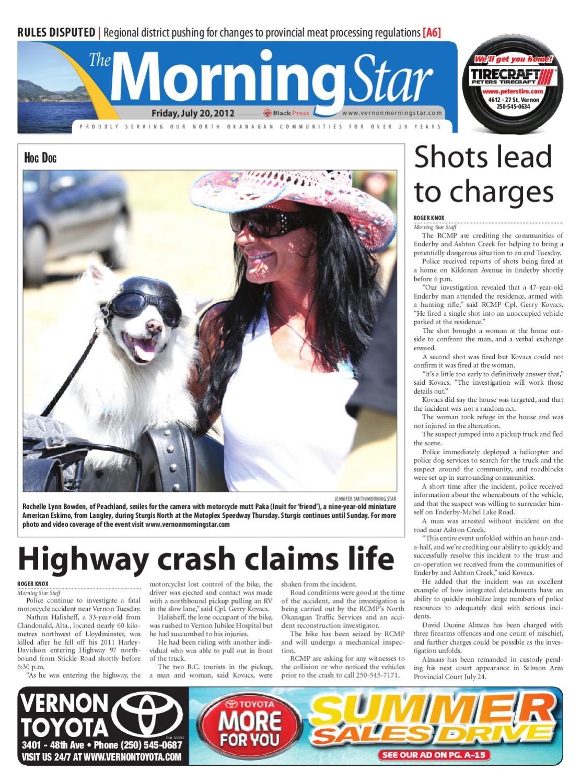 Vernon Morning Star July 20 2012 By Black Press Issuu Punjabi Punch 250gr