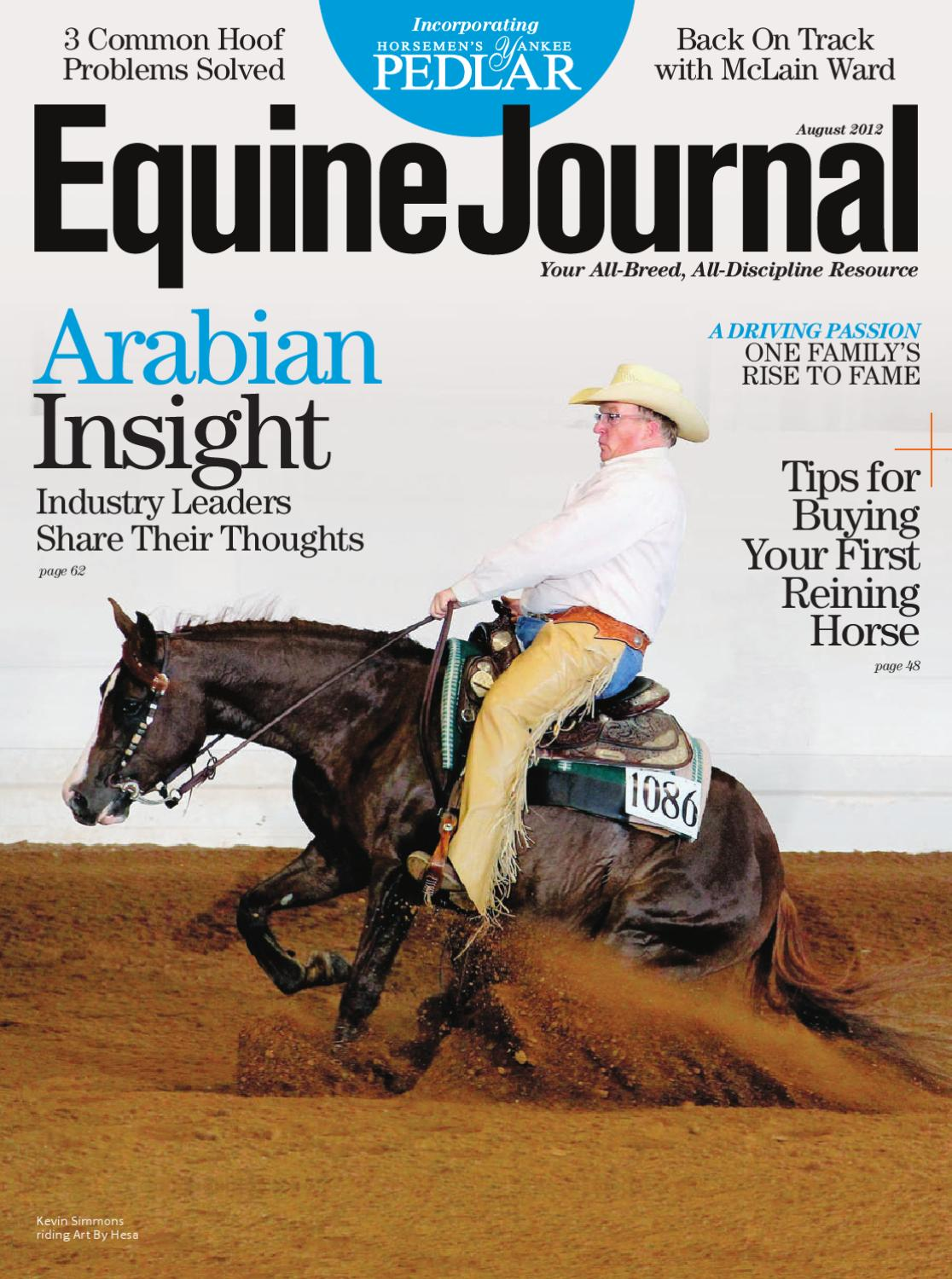 Equine Journal (August 2012) by Equine Journal - issuu