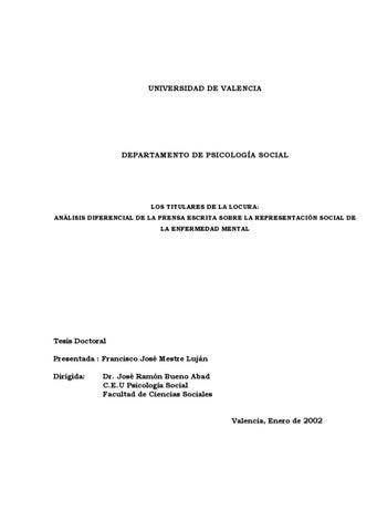 Los Titulares de la Locura by Fco Jose Mestre Lujan - issuu