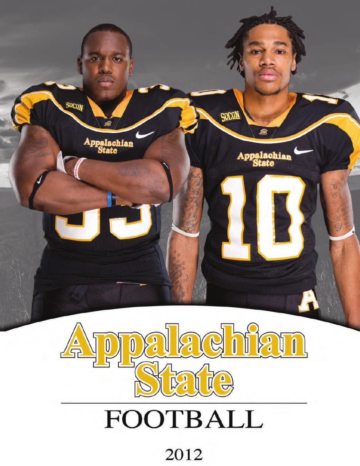bcc663f7b 2012 Appalachian State Football Online Yearbook by Appalachian State  University Athletics - issuu
