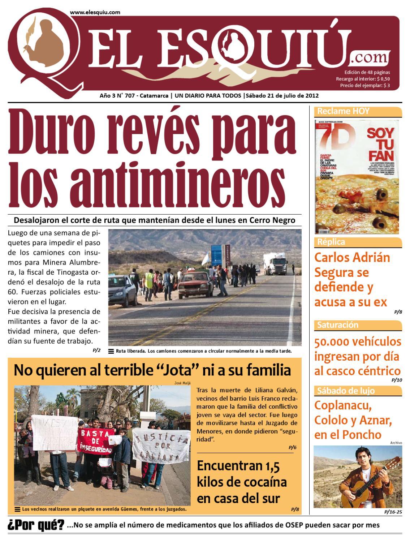El Esquiu.com Sábado 21 de julio de 2012 by Editorial El Esquiú - issuu