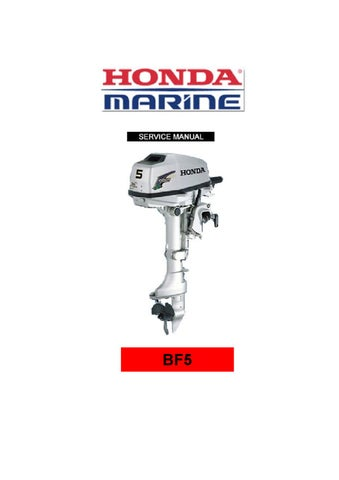 honda bf5 service manual by stefan 76 issuu rh issuu com