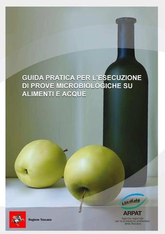 3d6b3208d5 Guida pratica per l'esecuzione di prove microbiologiche su alimenti e acque