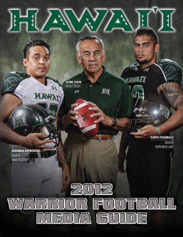 d46e9230dcee 2012 Warrior Football Media Guide by hawaiiathletics1 ...
