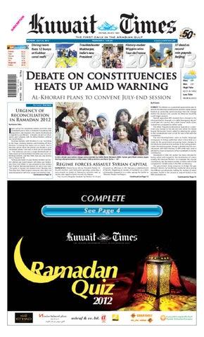 2ca2d98a8f 23rd Jul by Kuwait Times - issuu