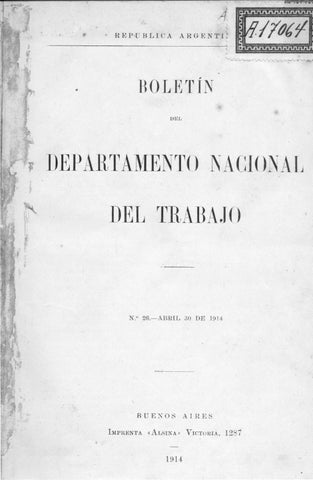 Investigación de las condiciones de vida y trabajo del Alto Paraná ...