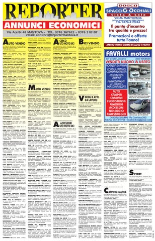 Reporter Annunci 26 agosto 2011 by Reporter - issuu e8ad6862028