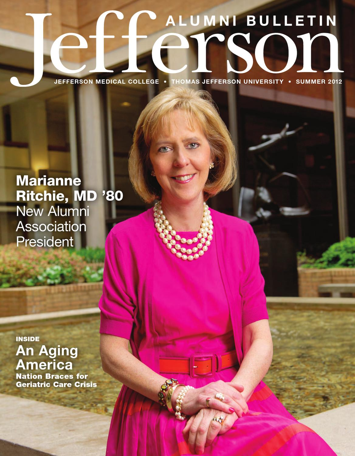 Jefferson Medical College Bulletin - Summer 2012 by ...