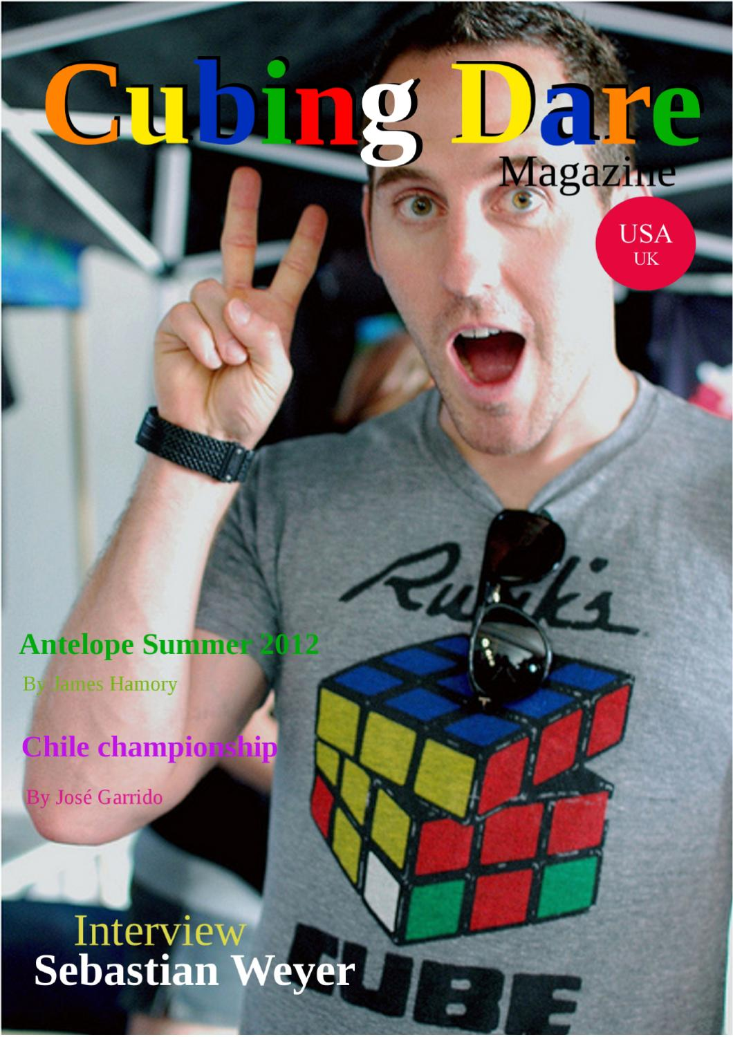 Cubing Dare Magazine, july 2012 by Mirror Reflection - issuu