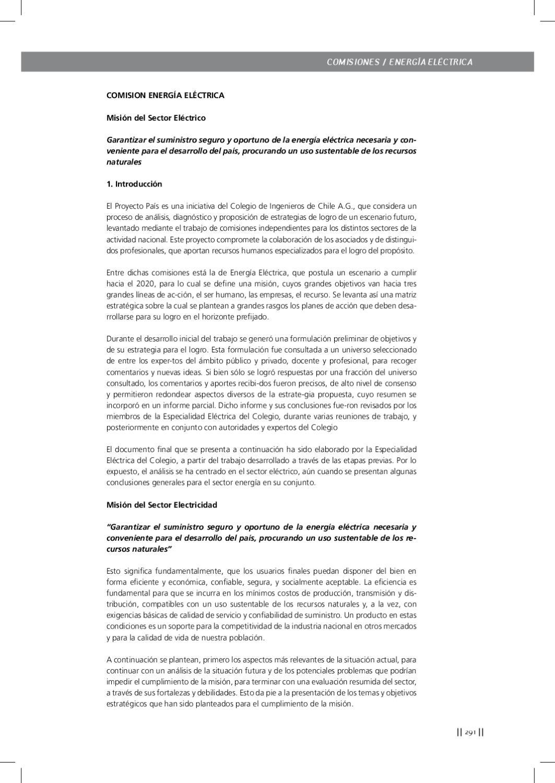 Proyecto país II - 2da parte by Revista Ingenieros - issuu
