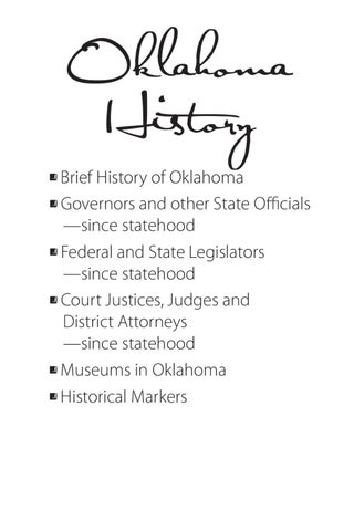 Oklahoma history by forrest mazey issuu page 1 publicscrutiny Image collections