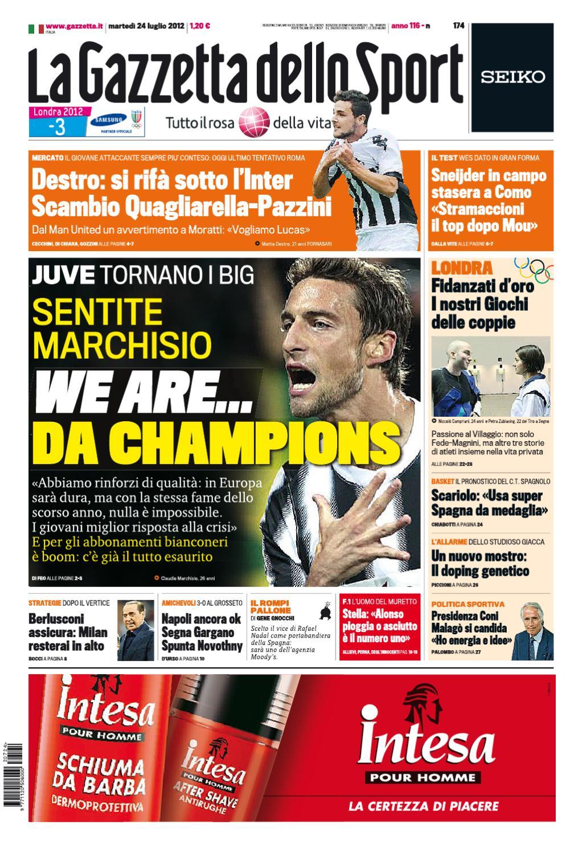 231fb80b1aebf Gazzetta dello Sport 24 07 2012