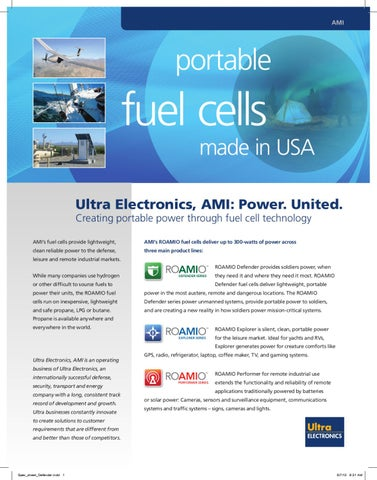 Portable fuel cells by BSS Holland BV - issuu