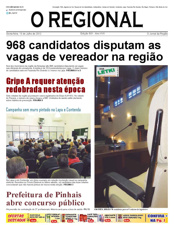 Ed. 831 O Regional by O Regional PR - issuu 7ceddd0ff01