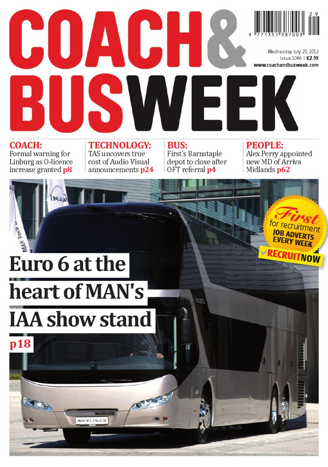 Coach & Bus Week : Issue 1046 by Coach and Bus Week & Group
