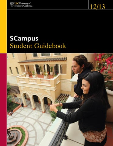 SCampus 2012-2013 by University of Southern California - issuu on