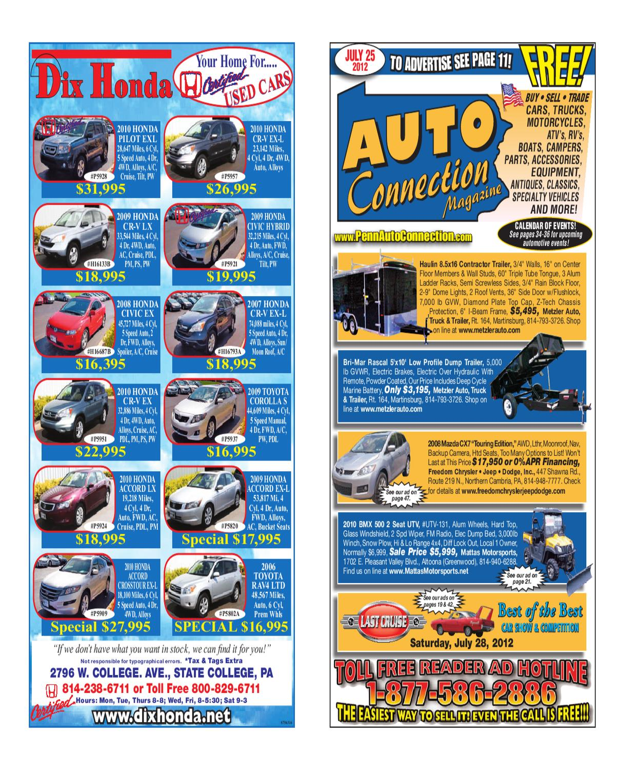 07 25 12 auto connection magazine by auto connection magazine issuu300c Oil Pressure Switch Location 1988 Ford Bronco 1998 Ford F #18