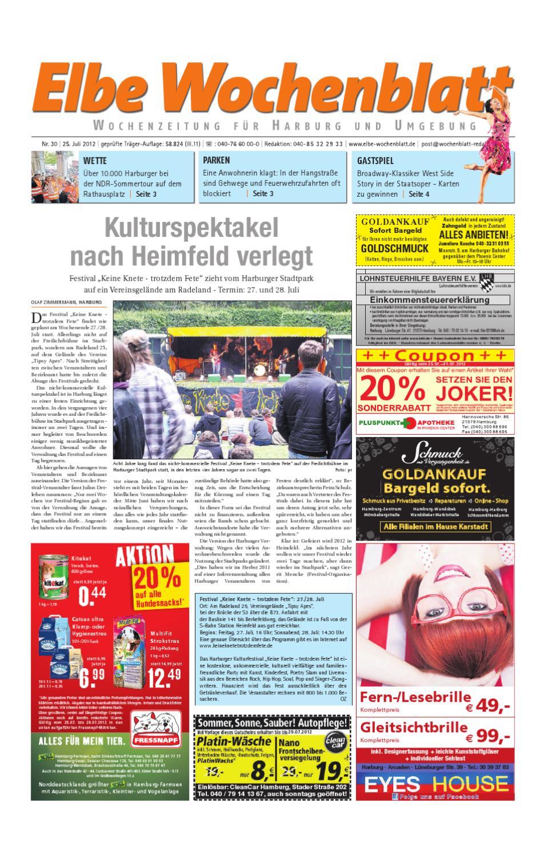 Harburg Kw30 By Elbe Wochenblatt Verlagsgesellschaft Mbh Co Kg Issuu