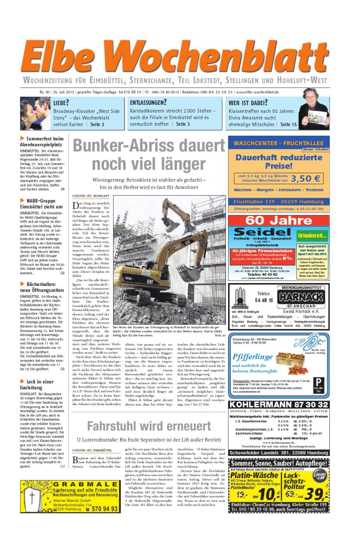 Eimsbüttel Kw30 By Elbe Wochenblatt Verlagsgesellschaft Mbh Cokg
