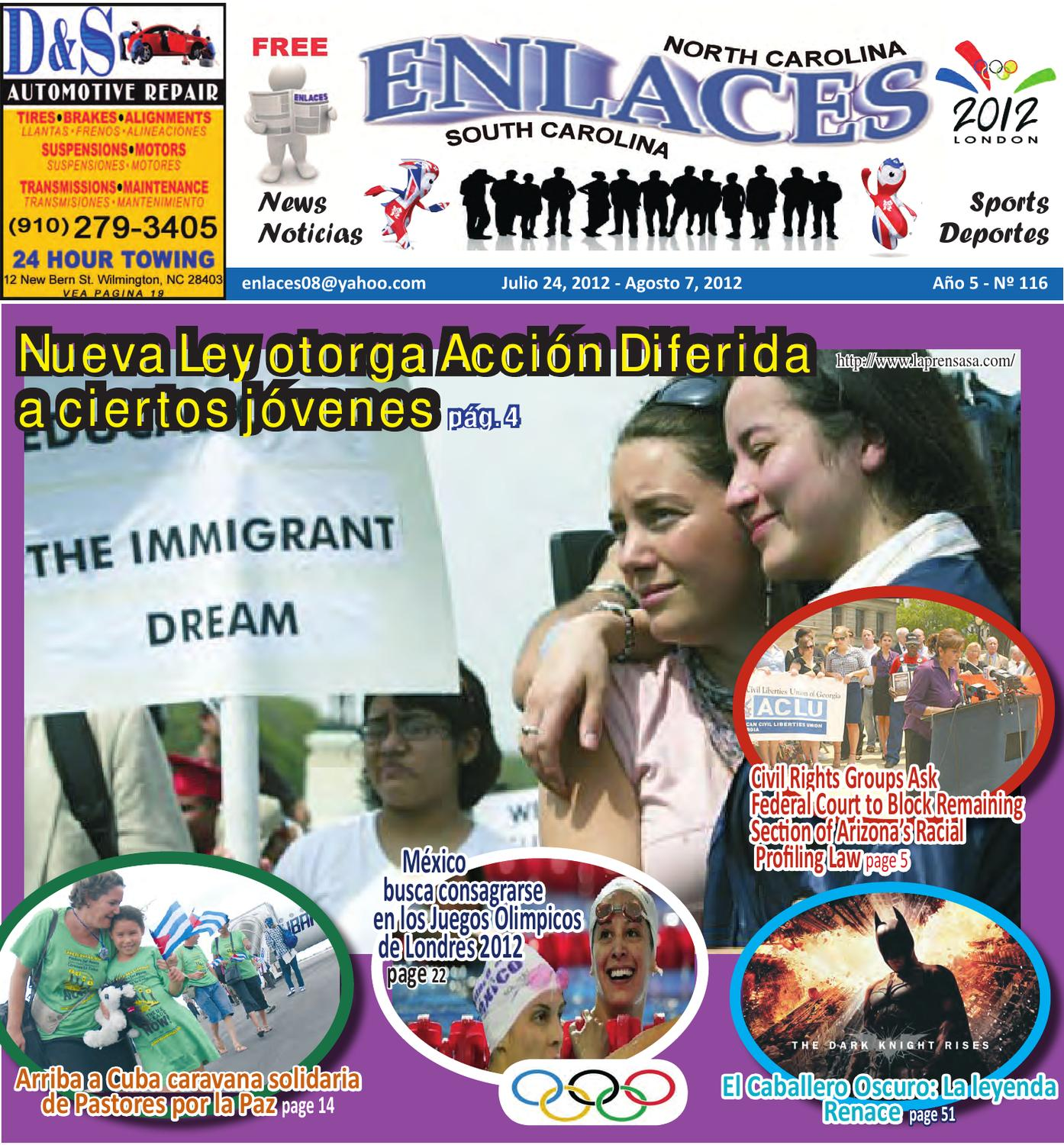EDICION 116 by Periodico Enlaces - issuu