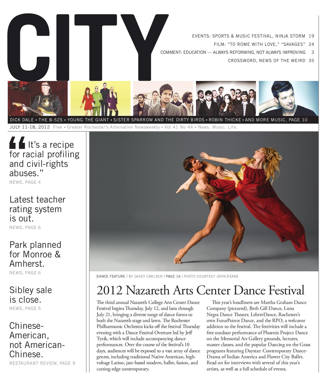 18b7d941e93 July 11-17, 2012 - CITY Newspaper by Rochester City Newspaper - issuu