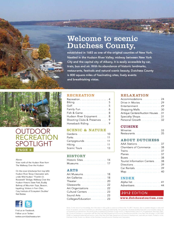 Dutchess County Tourism By Chronogram Media Issuu